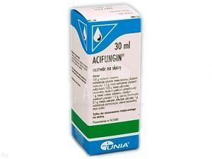 ACIFUNGIN MITTE 30ml, fungal infection, fungal diseases, jock itch, tinea corporis, athlete's foot