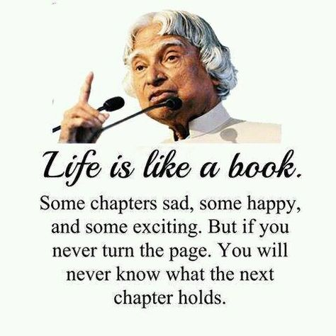Best Motivational Quote from India's most respected person and former president + Scientist
