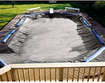 Swimline Sd3550rc Super Deluxe 35 X50 In Ground Swimming Pool