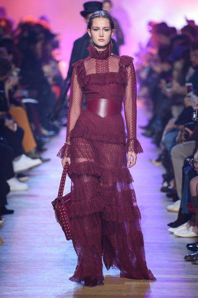 Elie Saab at Paris Fashion Week Fall 2018 - Every Gorgeous Fall 2018 Runway Dress From Paris - Photos