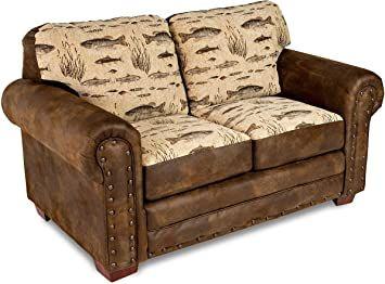 American Furniture Classics Model Angler S Cove Loveseat Brown Love Seat American Furniture Furniture
