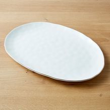 Gold Rim Oval Serving Plate Serving Plates Plates Christmas Trends