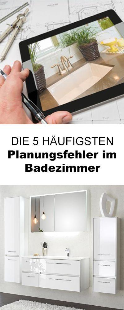 Diese Dinge solltest du bei deiner Badezimmer-Planung ...