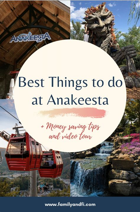 Visiting Gatlinburg TN soon? Tennessee sees visitors from all around the world because of their breathtaking mountains. One of the best places to take in the views is the new mountain park Anakeesta. Here is our review of the new park as well as a video tour and insider tips to save money! If you want to visit Anakeesta or Tennessee, pin this!