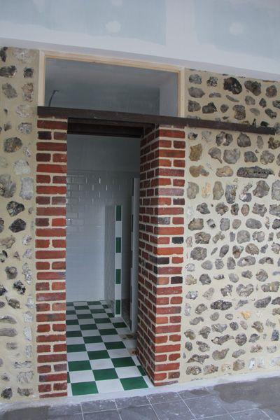 Pin by Maçonnerie Fondimare on nos Rénos  Ouverture de mur porteur - poutre pour mur porteur
