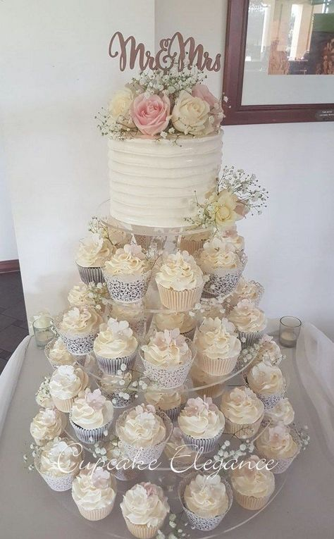 50 the basics of rustic wedding cake and cupcakes display receptions you can ben. 50 the basics of rustic wedding cake and cupcakes display receptions you can benefit from starting right away Rustic Cupcakes, Wedding Cakes With Cupcakes, Cupcake Cakes, Vintage Wedding Cupcakes, Wedding Cup Cakes, Wedding Shower Cupcakes, Elegant Cupcakes, Country Cupcakes, Rustic Cupcake Stands