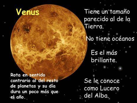 Planeta Venus Imagenes Resumen E Informacion Para Ninos Planeta Venus Para Ninos Venus Planeta