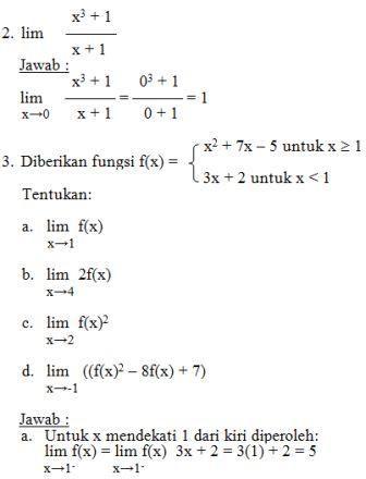 Materi Matematika Kelas Xi Ipa Limit Fungsi Aljabar Ibu Guru Susi Sr Matematika Buku Catatan Matematika Teori