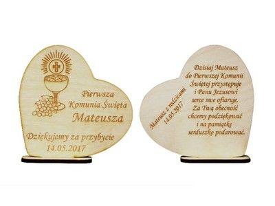 Podziekowania Dla Gosci Komunia Strona 2 Allegro Pl Wiecej Niz Aukcje Najlepsze Oferty Na Najwi First Communion Gifts Communion Gifts Place Card Holders