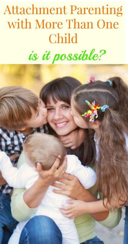 Five Tips for Attachment Parenting Multiple Children