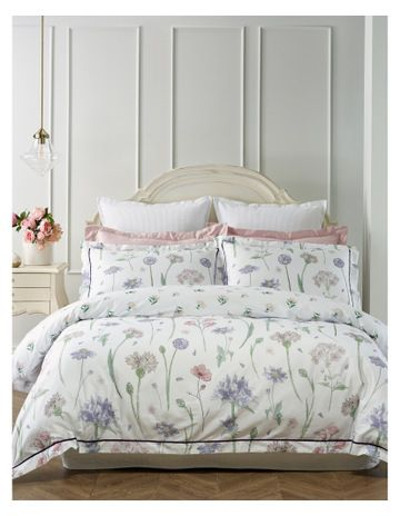 Heritage Tuscania Cotton Quilt Cover Set In Multi Myer Cotton Quilt Covers Quilt Cover Quilt Cover Sets