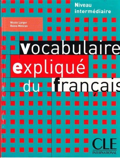 Telecharger Vocabulaire Explique Du Francais Niveau