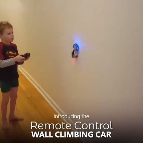 This Wall Climbing RC Car makes use of the latest suction technology, making it gravity-defyingly rides on any smooth surface. Take it on the floors, walls, windows, glass and even ceilings! It won't fall!
