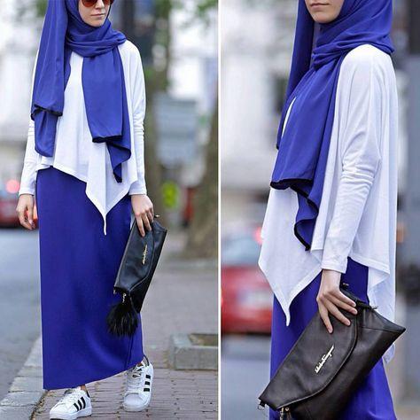 أزياء شيك للمحجبات , ملابس مميزة و أنيقة للمحجبات 2021 697360c8ff9a542c527d