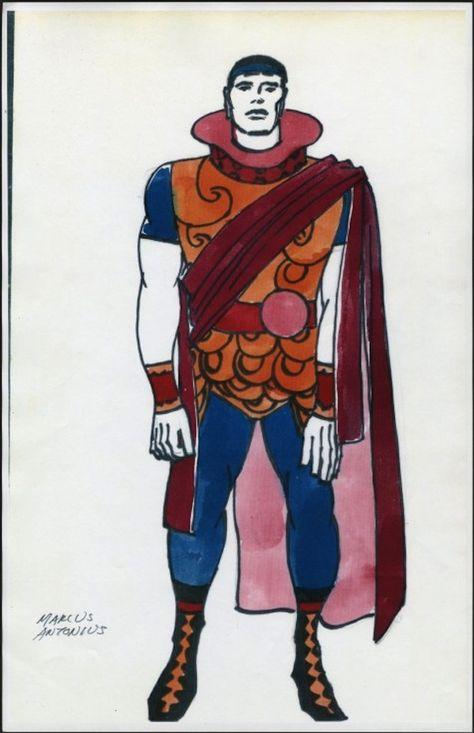 Negli anni Sessanta, mentre era impegnato a rivoluzionare il mondo del fumetto, Jack Kirby trovò anche il tempo di darsi da fare in attività parallele...