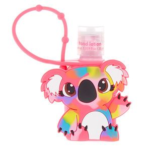Kylie The Koala Rainbow Holder With Strawberry Scented Hand Lotion