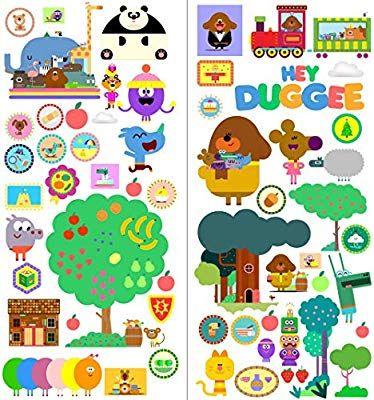 Hey Duggee,Sticker,Kids,3D,Wall Art,Bedroom,Decal,Mural