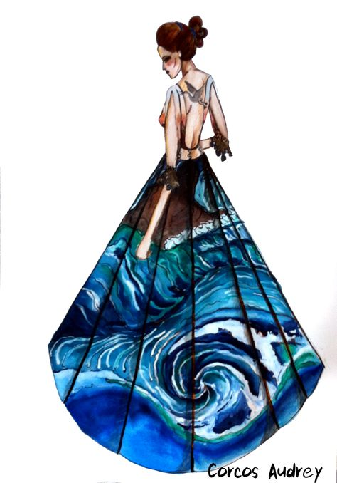 Fashion illustration - Japan
