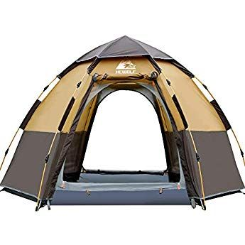 Hewolf Pop Up Tent for 3 to 4 Person Automatic Opening