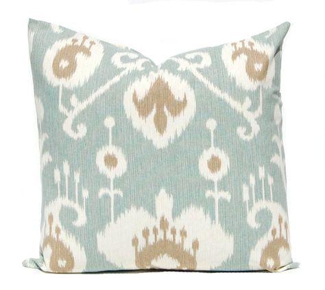 Pillow Throw Pillow Cover Ikat Design Four Colors 16 X 16