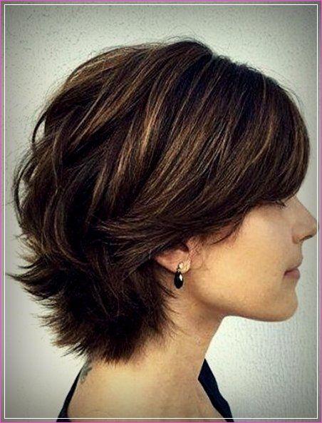 20 Kurze Kantige Frisuren Fur Dickes Haar Haarschnitt Kurz Haarschnitt Frisur Dicke Haare