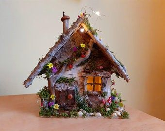 MADE IN AMERICA Miniature Art FAST DELIVERY FOREST FAIRY Dollhouse Picture