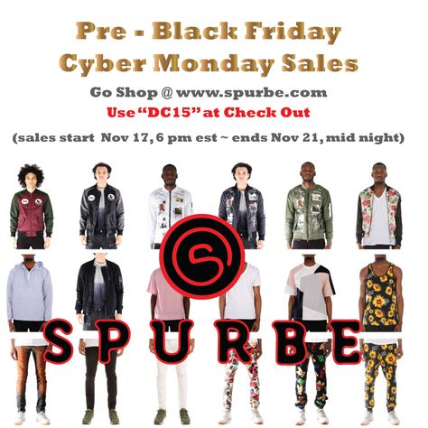 blackfriday spurbeGo shop @ www.spurbe.com...