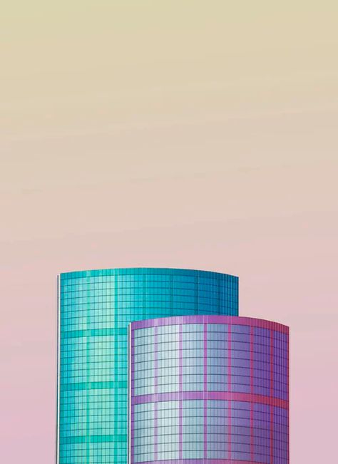Coral Building Poster