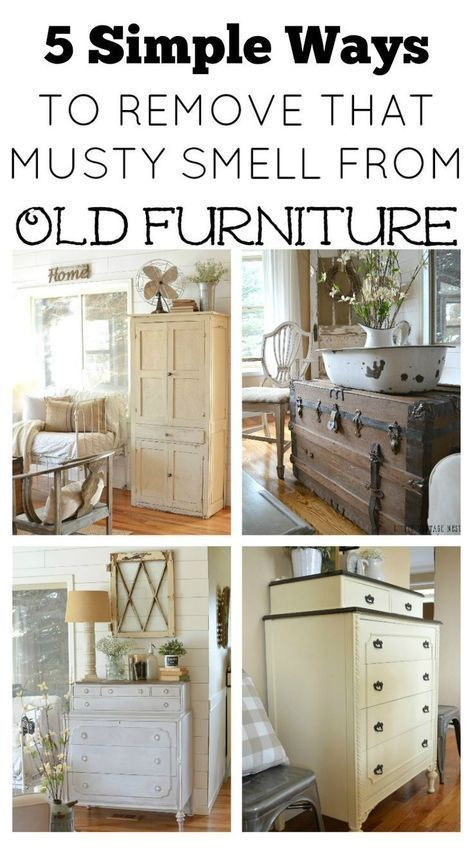 5 Ways To Remove That Musty Smell From Old Furniture How To