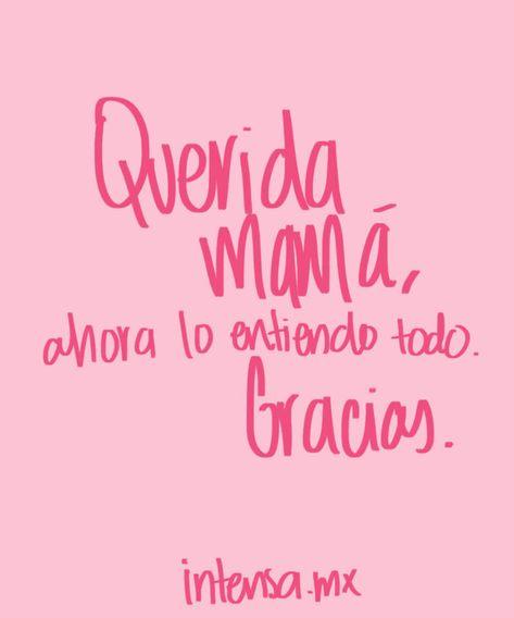 Frases para mamá este Día de las Madres | Intensa