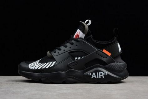 a40646bad0bcb Purchase Off-White x Nike Air Huarache Ultra Black Mens Running Shoes AA3841 -001 For Sale - ishoesdesign