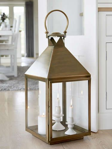 Extra Large Antique Brass Lantern Brass Lantern Large Candle Lanterns Large Floor Lanterns