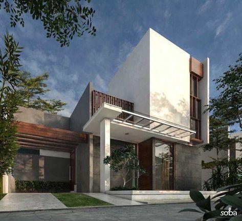 ide kreatif model rumah sederhana tapi mewah terbaru