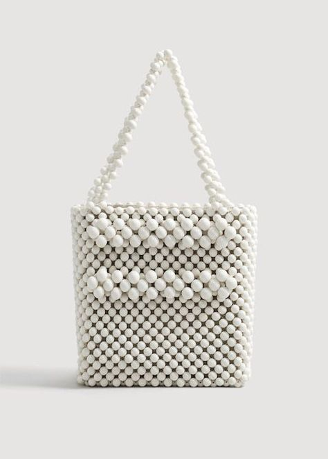 Beaded Shopper Bag Woman Goruntuler Ile Boncuklu Cantalar Canta Cantalar
