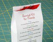 Survival Kit for Friends - Printable PDF