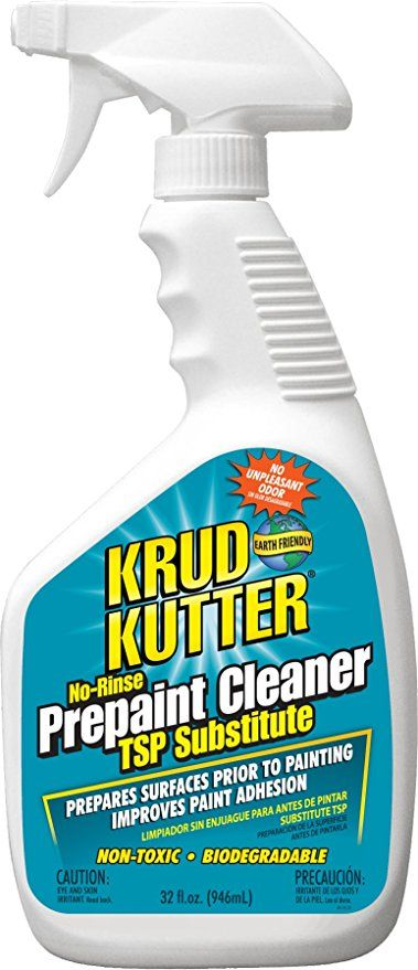 Krud Kutter Pc326 Pc32 Prepaint Cleaner Tsp Substitute 32 Ounce Original Version Painting Over Stained Wood Diy Dresser Makeover Krud Kutter
