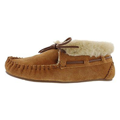 D.S.mor Kids Khaki Faux Suede Warm Slippers Bedroom Slippers Child Shoes