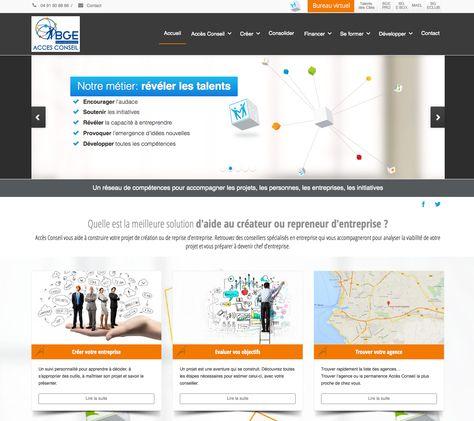 Creation Du Site Web D Acces Conseil Avec Le Deveopper Cyril
