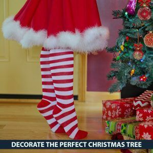 Tips On How To Decorate A Christmas Tree Bop Till You Drop Christmas Stocking Gifts Christmas Tree With Presents Christmas Tree Decorations