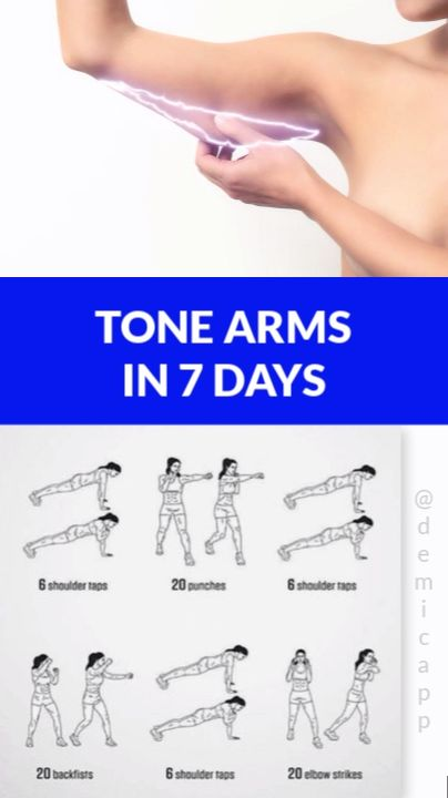Arms In 7 Days Tone Arms In 7 Days! Get Ultimate Meal & Workout Plan!, - -Tone Arms In 7 Days Tone Arms In 7 Days! Get Ultimate Meal & Workout Plan!, - - 5 exercises t. 7 Day Workout Plan, Workout Routines For Women, Gym Workout Tips, Fitness Workout For Women, Fitness Workouts, Easy Workouts, At Home Workouts, Workout Plans, Arm Workout Women No Equipment