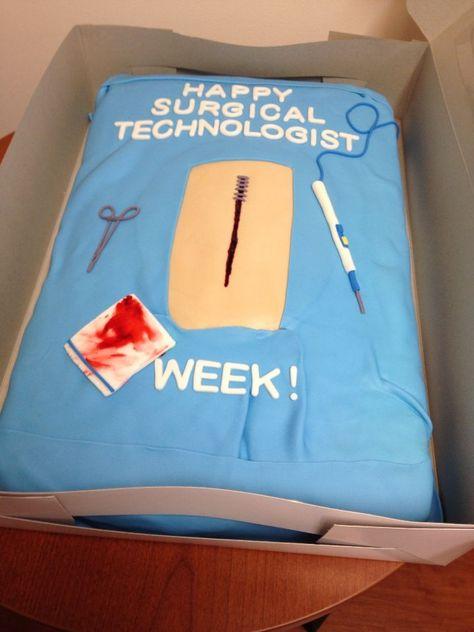 #surgical #tech #cakeSurgical tech cake 9-25-14