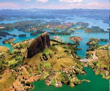 Workaway in Colombia. New ecological and family project in GUATAPE, Colombia