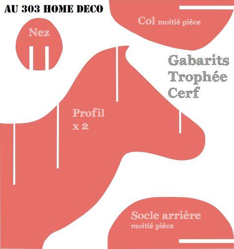 Fabriquer soi même un Trophée de Cerf (épisode 1) ~ AU 303 HOME DECO - comment construire sa maison soi meme