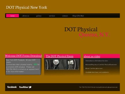 The truck driver blog and DOT physical site  DOT physical - dot physical form
