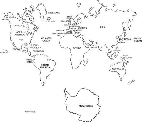 World Map Teacher Stuff Pinterest Map World Map Printable And