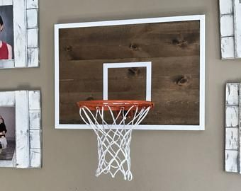 Basketball Hoop Wall Decor Etsy Basketball Hoop Outdoor