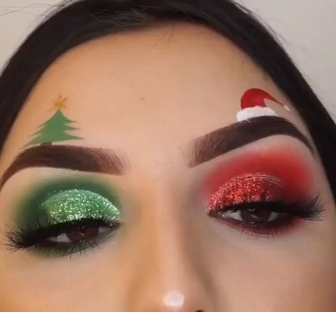 55 Amazing Christmas Makeup Ideas   ||   We've brought you plenty of inspiration with these Christmas makeup ideas to copy this season! Your makeup is just as important as your outfit, gifts, and the Christmas dinner on the big day itself, so get it right the first time. Pull up a chair, get your makeup bag ready, and perch yourself in front of a mirror. It's time for us to start playing around in your makeup box! We love glitter, seriously; and the holiday season offers the perfect ...