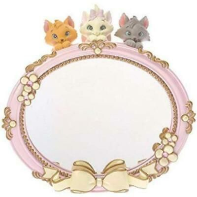 Disney store Japan Aristo cat Marie Toulouse Berlioz Stand mirror figure mirror