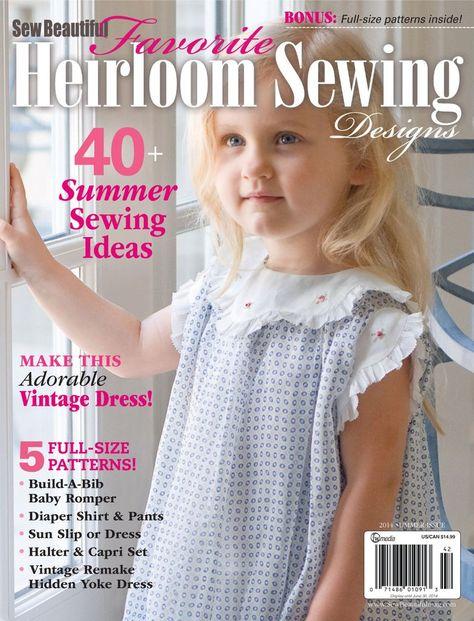 4 Sew Beautiful Magazines Martha Pullen 2001 2002 81 Heirloom Sewing 75 77 76