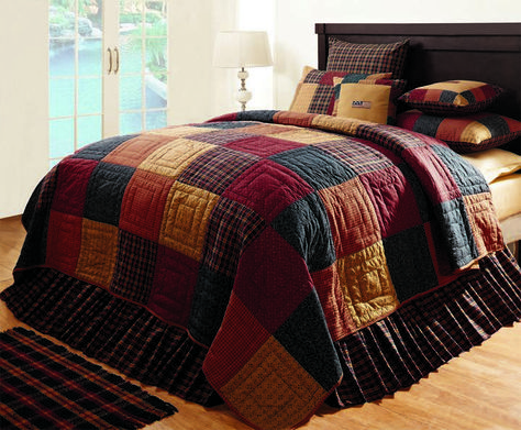 Country and Primitive Bedding, Quilts - Old Glory Bedding by IHF - Country Decor, Primitive Decor, Bedding, Primitive Flags